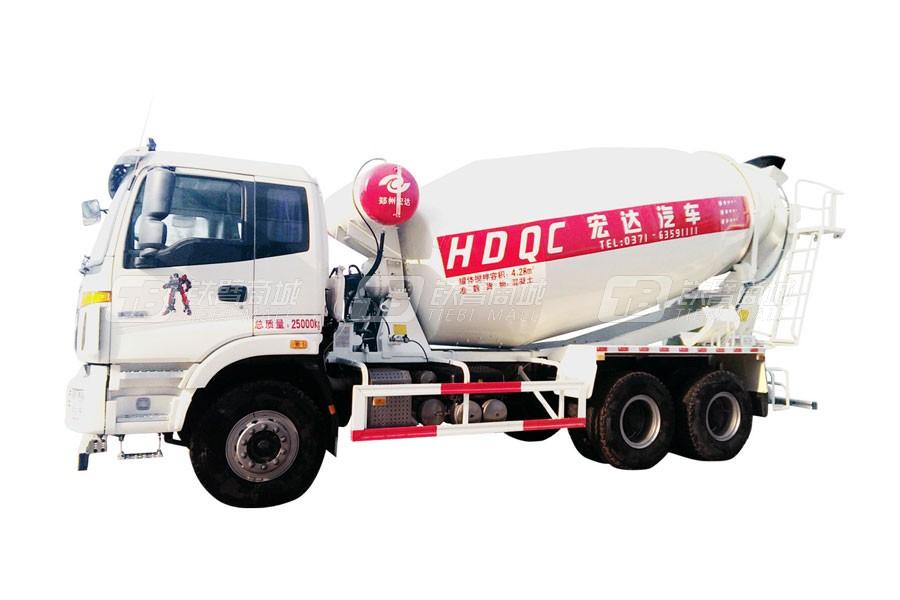 宏达汽车JYC5250GJBBJ3混凝土搅拌运输车