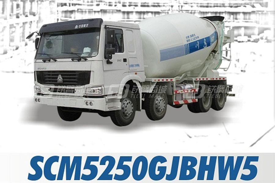 四川建机SCM5250GJBHW5混凝土搅拌运输车