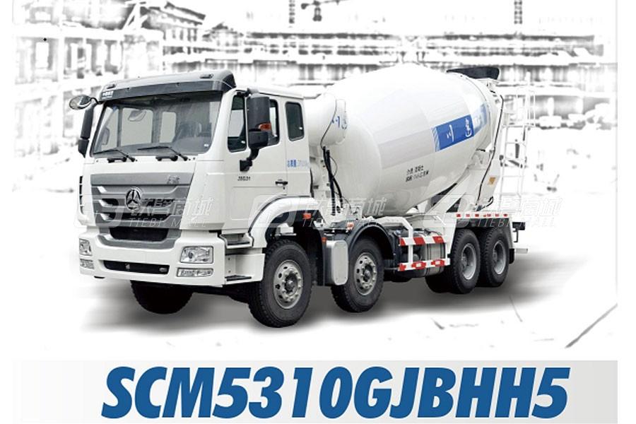 四川建机SCM5310GJBHH5混凝土搅拌运输车