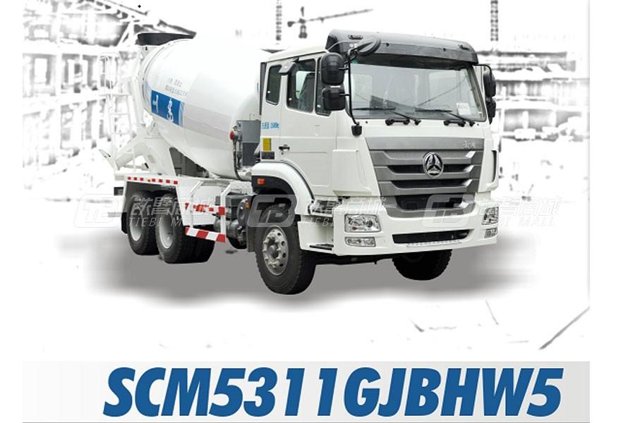 四川建机SCM5311GJBHW5混凝土搅拌运输车