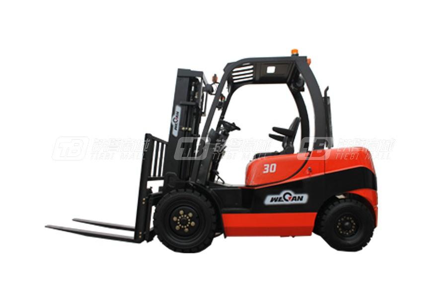 威肯CPC30G/CPCD30G内燃平衡重叉车