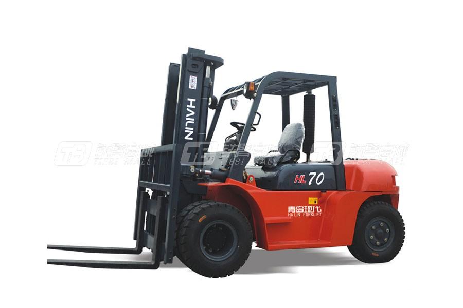 现代海麟CPC70内燃平衡重叉车