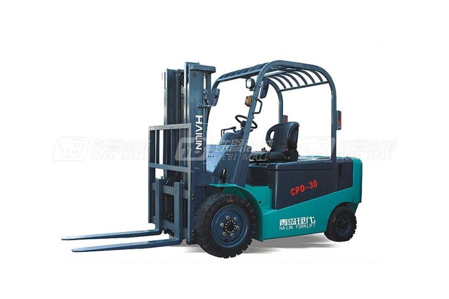 现代海麟CPD303.0吨全交流电动平衡重叉车