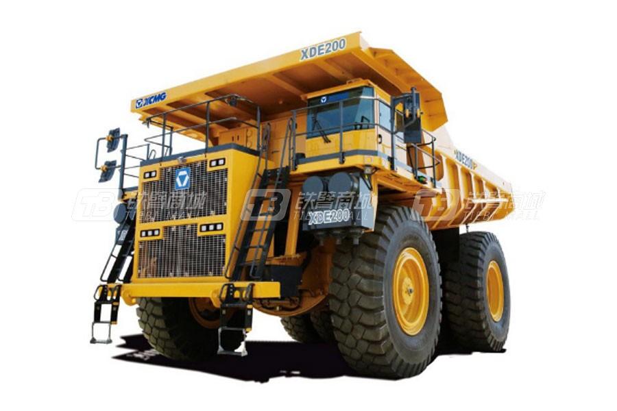 徐工XDE200刚性自卸卡车
