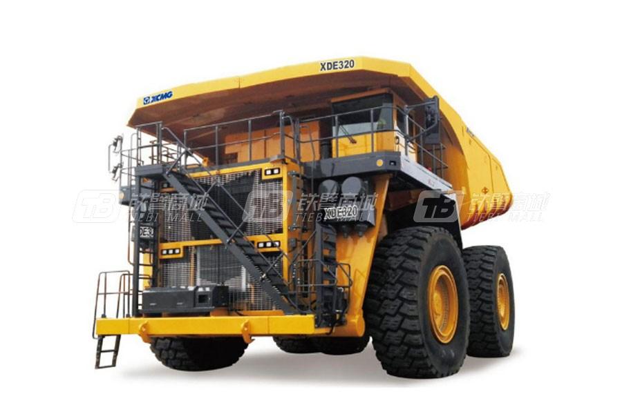 徐工XDE320电传动自卸车