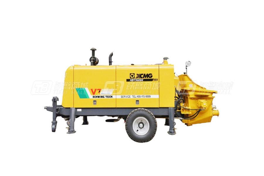 徐工HBT6013K拖式混凝土泵