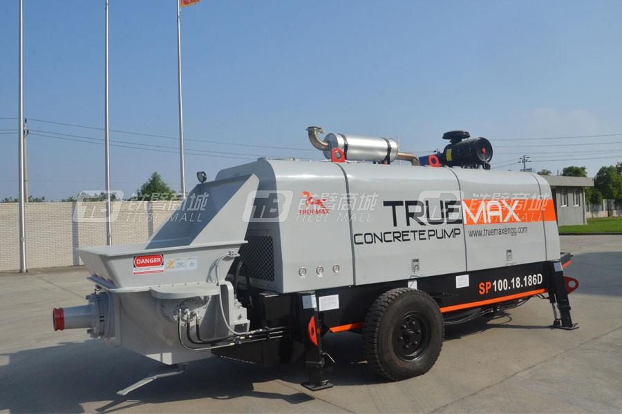 信瑞重工HBT100.18.186D混凝土拖泵