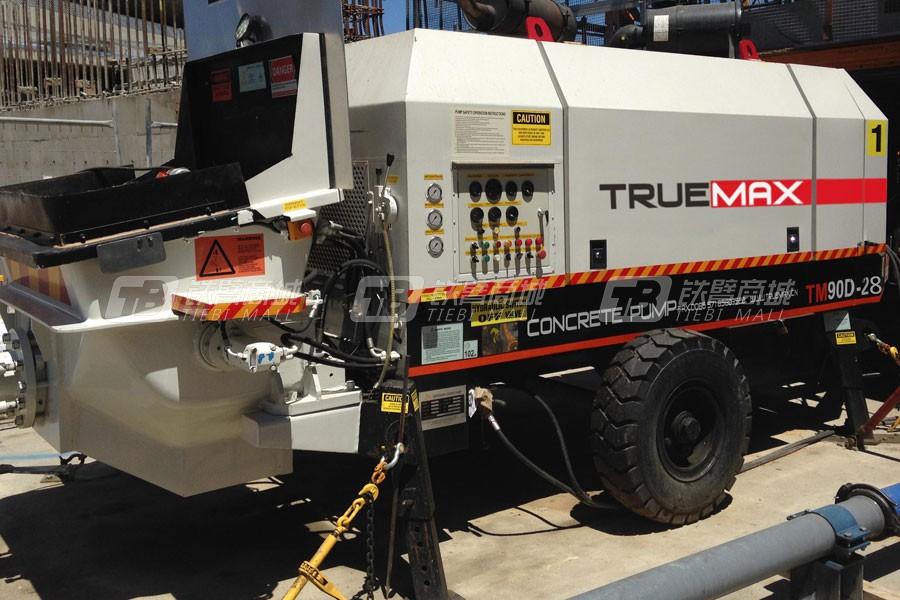 信瑞重工HBT90.28.372D混凝土拖泵