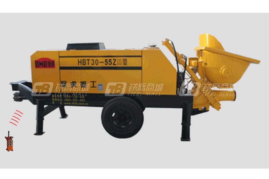 泵虎HBT30-55ZⅢ拖泵