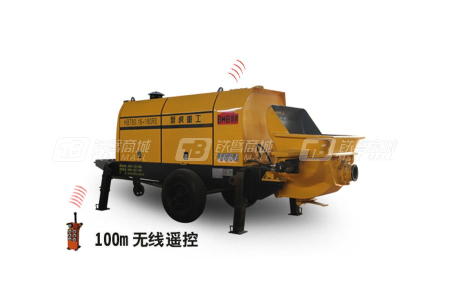 泵虎HBT80.16-180RS拖泵