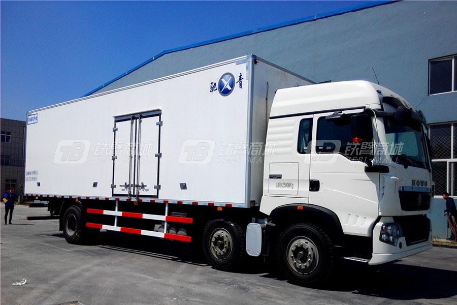 青岛雅凯QYK5251XLC59.6米重汽豪沃6*2冷藏车