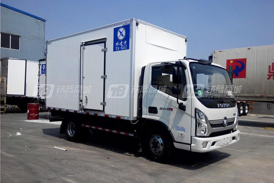 青岛雅凯BJ5049XLC-A2冷藏车