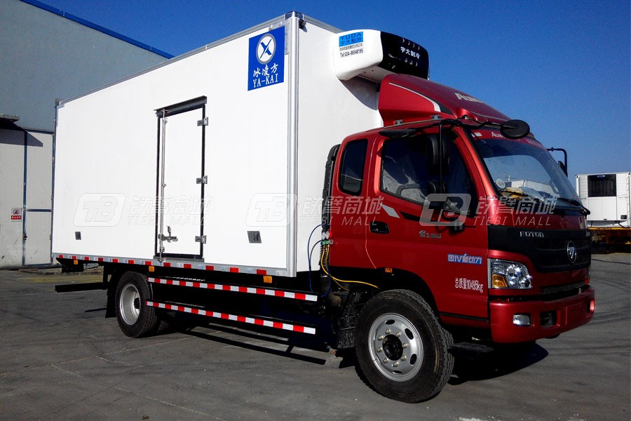 青岛雅凯BJ5109XLC-A25.6米福田欧马可冷藏车