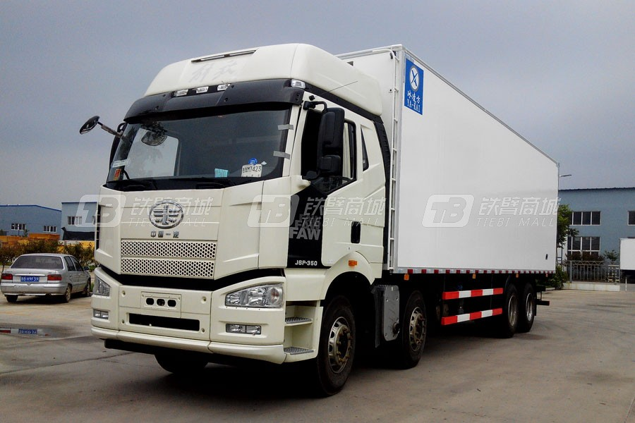 青岛雅凯CA5310XLCP66K2L7T4E4 9.6米解放J6冷藏车
