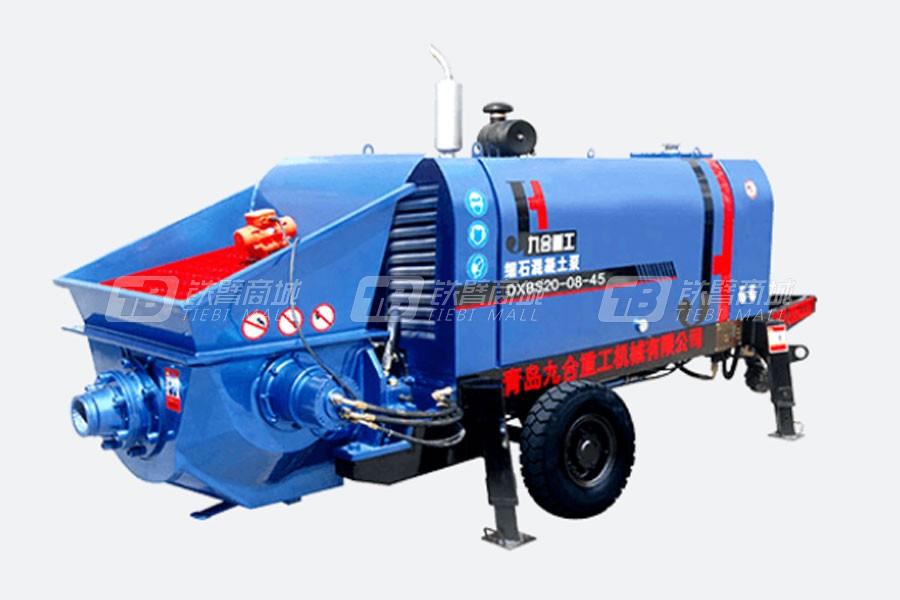 九合重工柴油机细石混凝土泵口碑