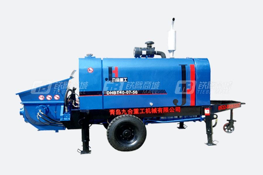 九合重工DHBT40大骨料混凝土泵