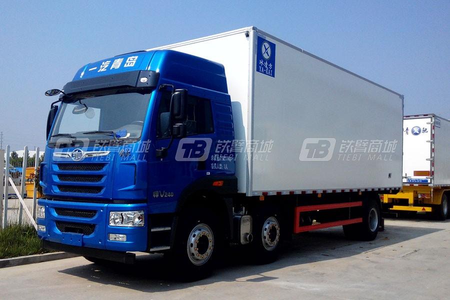 青岛雅凯CA5250XXYP1K2L5T3E4A80-3冷藏车