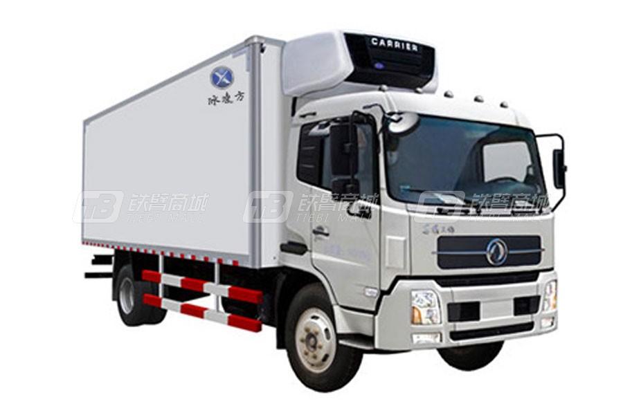 青岛雅凯QYK5181XLC5东风天锦(4x2)7.6米冷藏车
