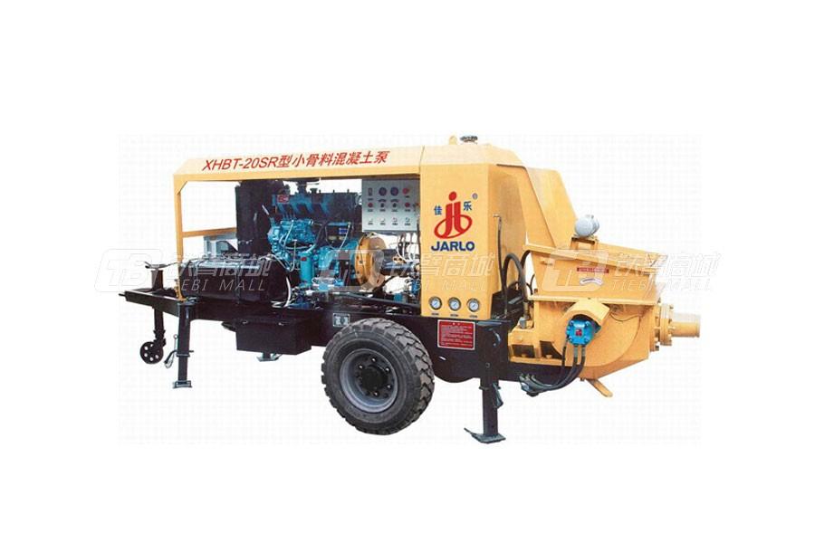 佳乐XHBT-20SR/1011小骨料混凝土泵