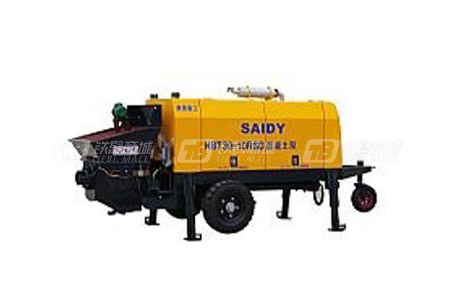 赛地重工HBT80-13RSD柴油机动力细石混凝土泵