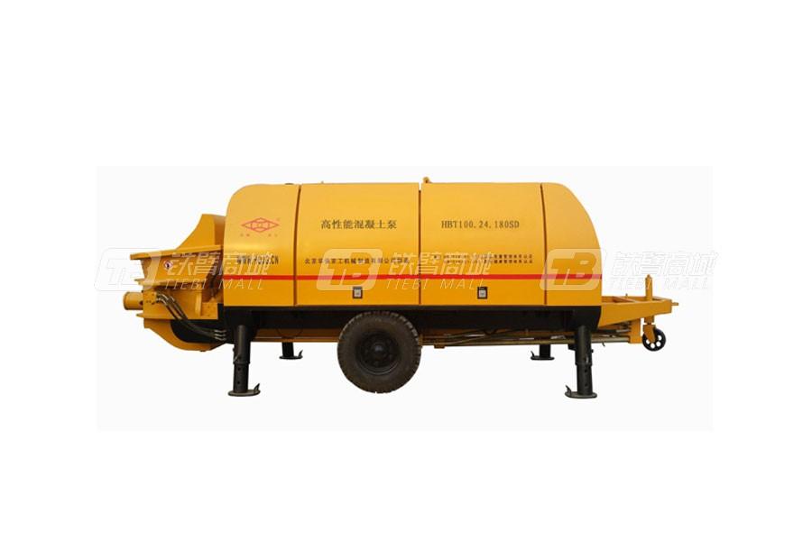 华强京工HBT100.24.180SD超高层专用泵