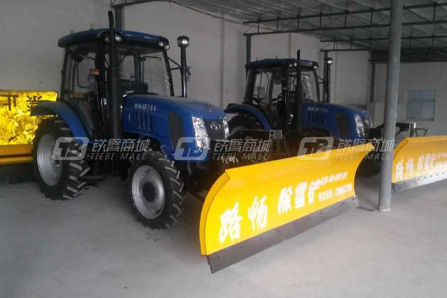 路畅养护LC2.0T -CX除雪拖拉机