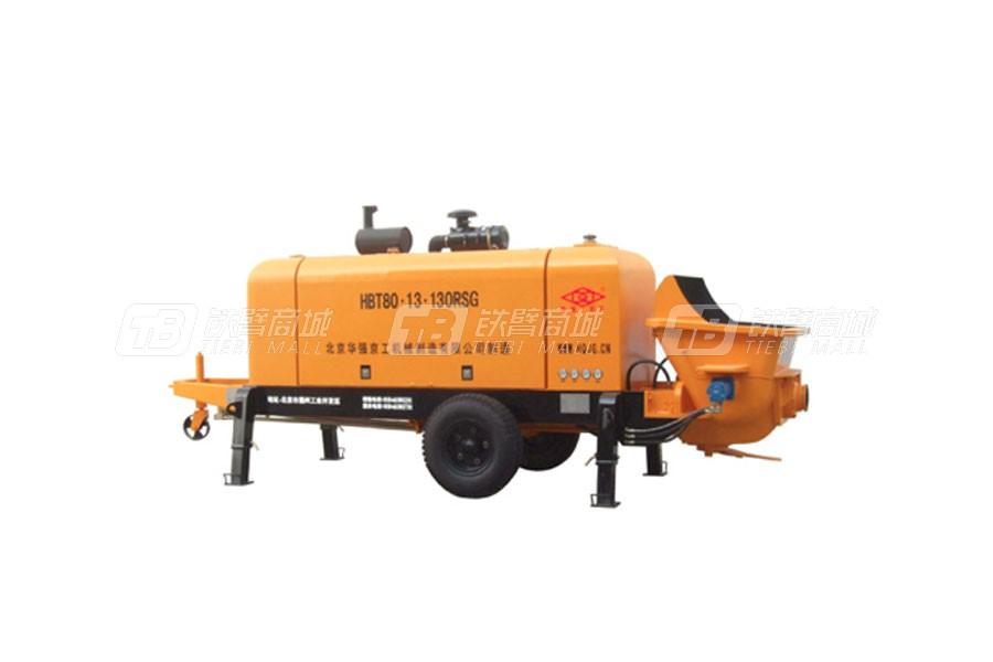 华强京工HBT80.13.130RSG拖式柴油机泵