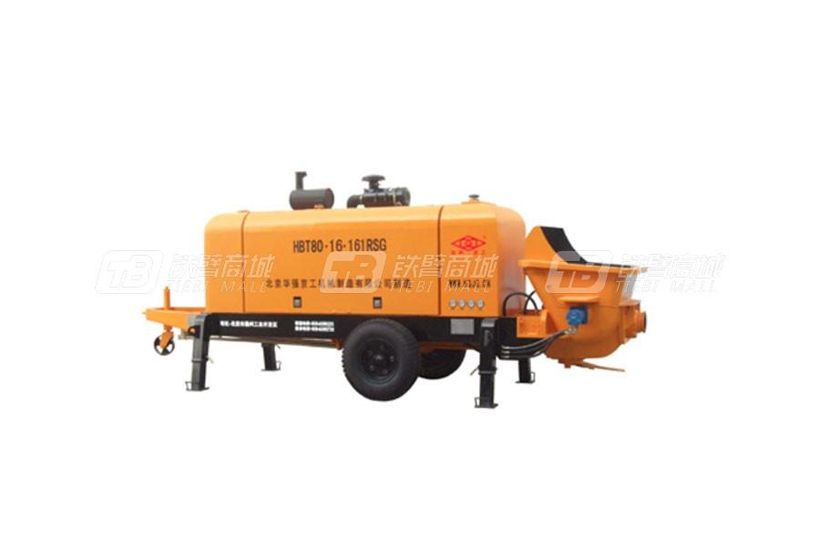 华强京工HBT80.16.161RSG拖式柴油机泵