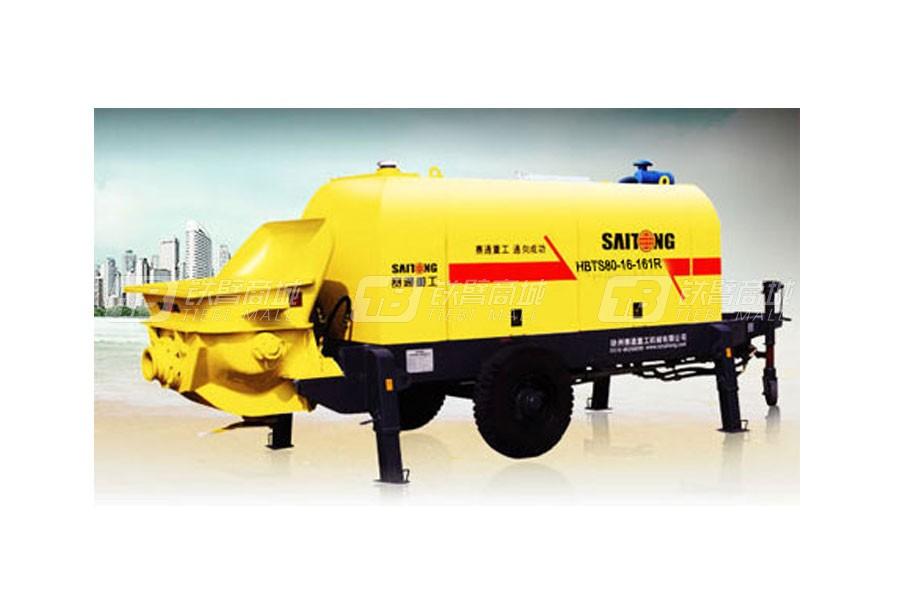 赛通重工HBTS80-16-161R柴油机混凝土输送泵系列