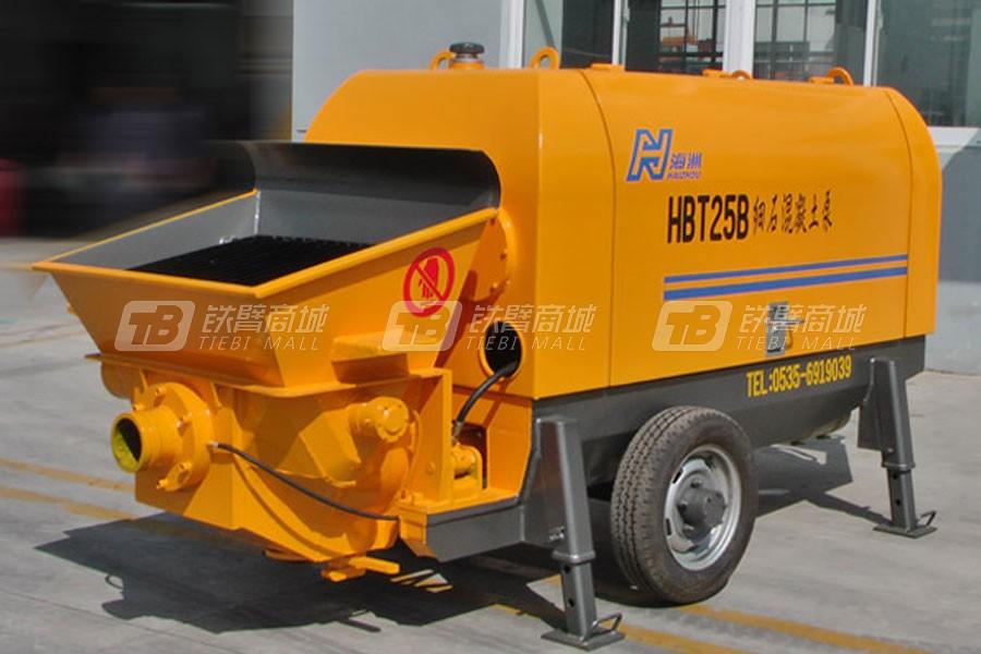 海州机械HBT25-8-30S砂浆泵