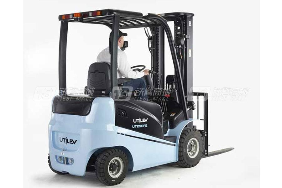 优特力UT15-25PFE四轮电动平衡重叉车