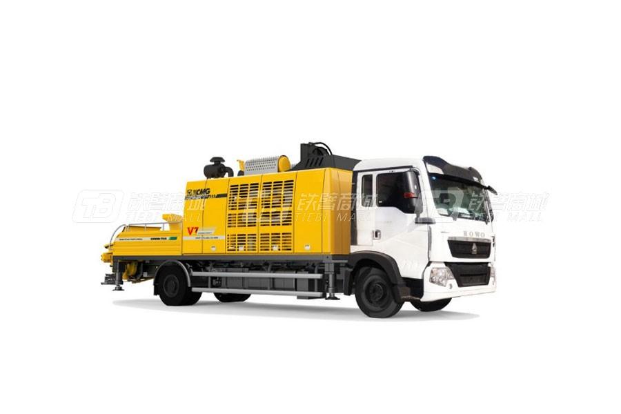徐工HBC10040K车载式混凝土泵