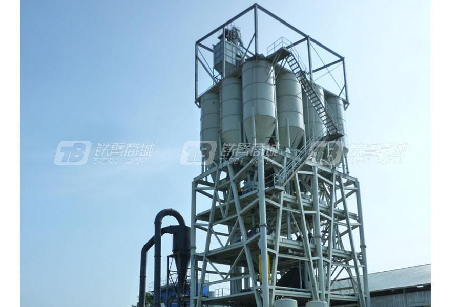 陕西科尼乐GDW3000塔楼式干粉砂浆生产线