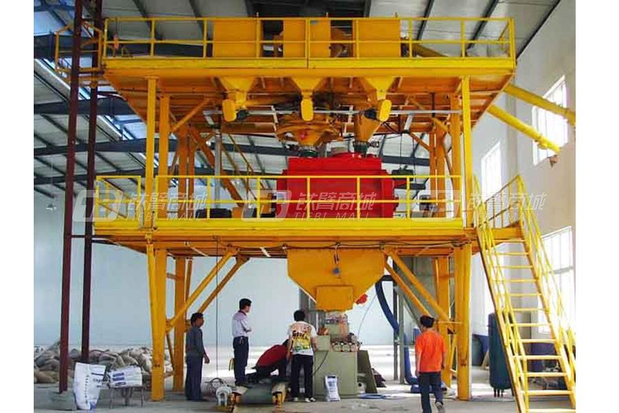 陕西科尼乐GDW1000车间式干粉砂浆生产线