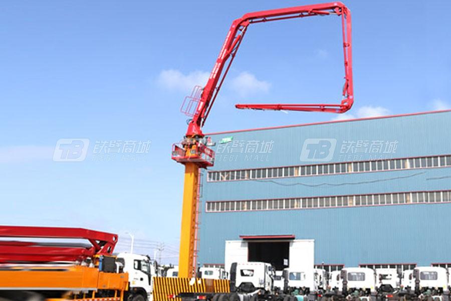 九合重工HG28楼板式内爬液压布料机