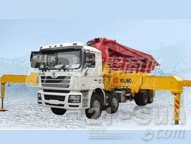 宜工JTZ5430THB45米臂架泵泵车