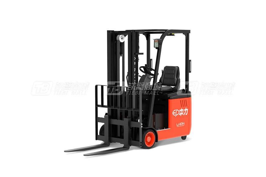 杭州中力CPD15L-B1.5吨电动平衡重叉车