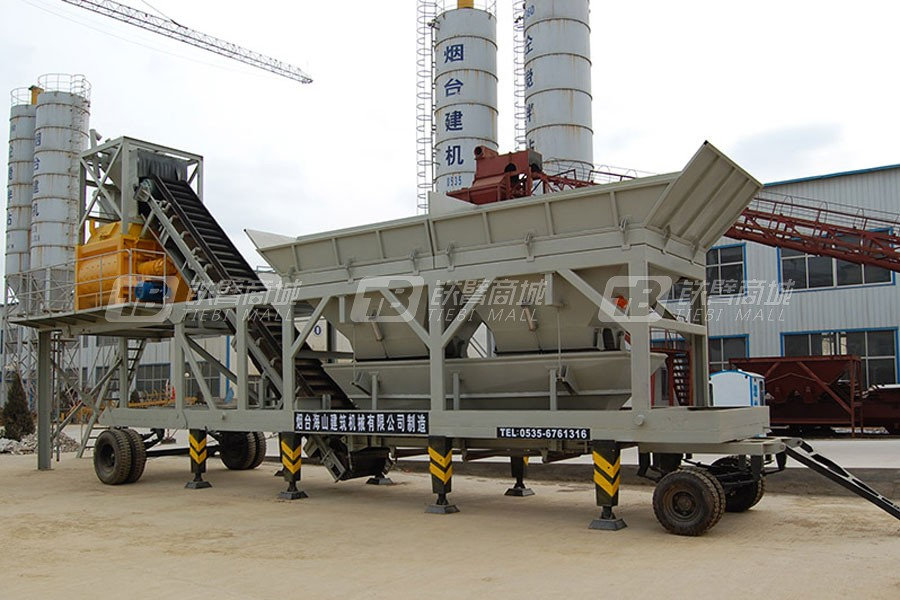 海山机械YHZS50搅拌站