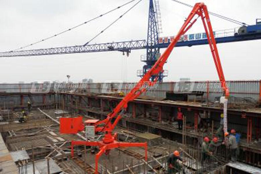 建研机械HGY13移动式混凝土布料杆