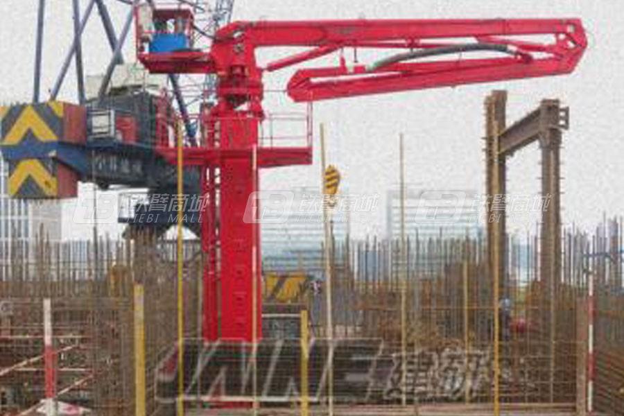 建研机械HGY21电梯井爬升式布料机
