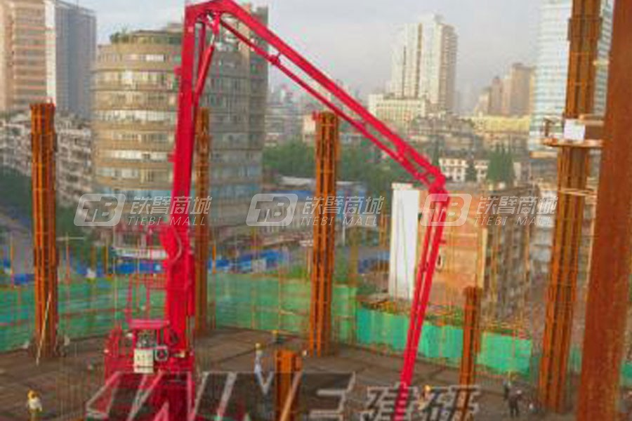 建研机械HGY24电梯井爬升式布料机