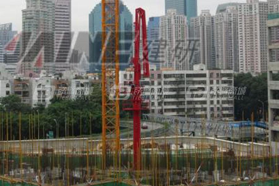 建研机械HGY32电梯井爬升式布料机