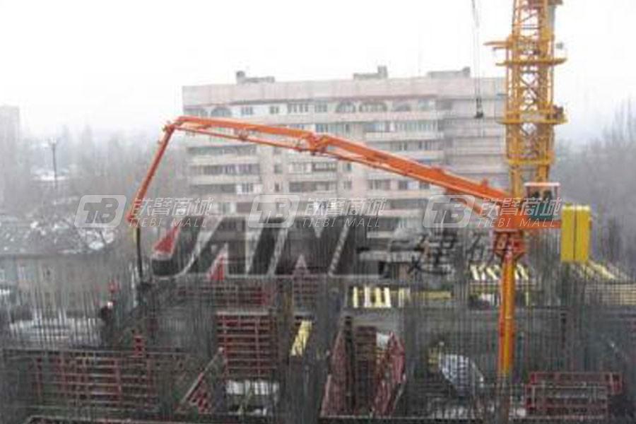 建研机械HGY17楼板固定式布料机