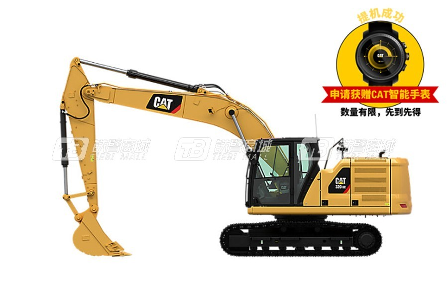 卡特彼勒新一代CAT? 320 GC液压挖掘机