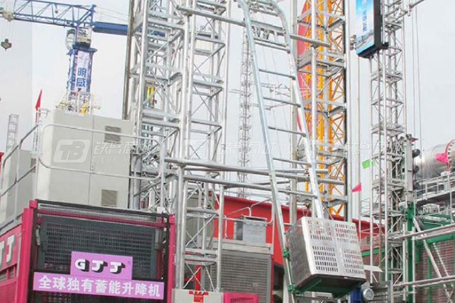 京龙SS30H倾斜货梯
