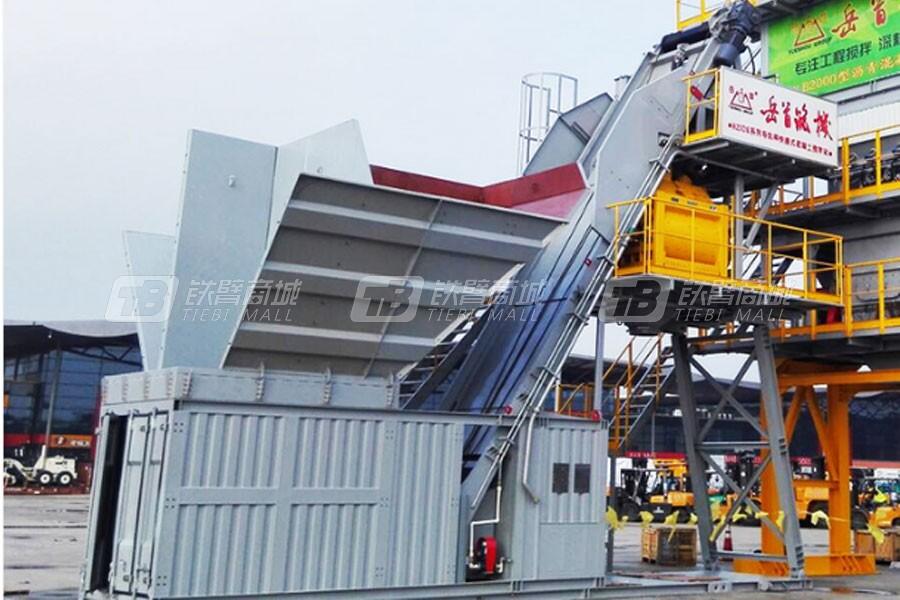 岳首HZSDK75导轨秤快搬式水泥砼搅拌设备