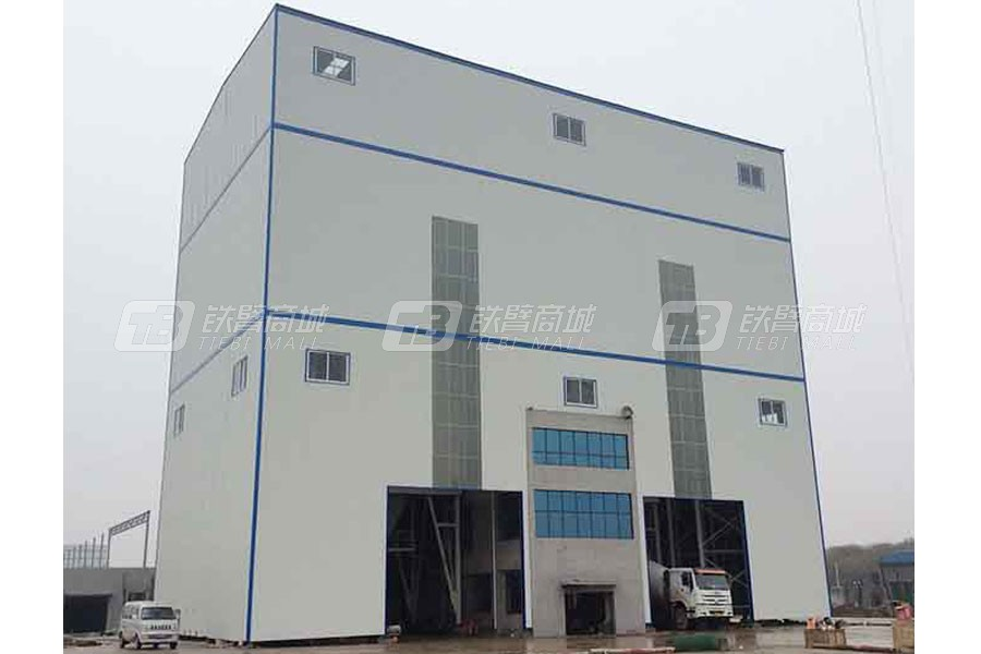 科尼乐HZN120环保型混凝土搅拌站