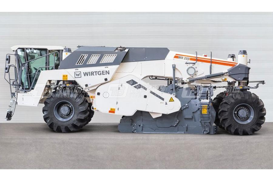 维特根WR 250冷再生及土壤稳定机