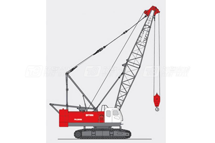 抚挖重工QUY80A履带式起重机
