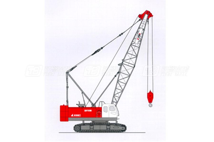 抚挖重工QUY80B履带式起重机